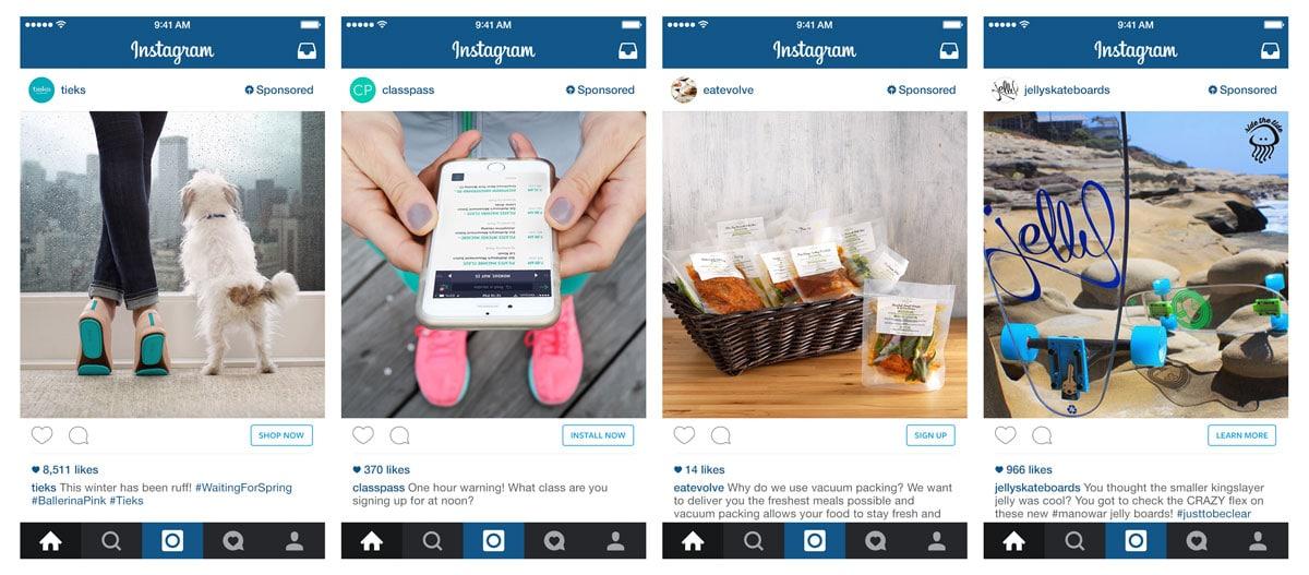 Nuovi Pulsanti per Instagram Ads
