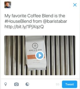 Conversational Ads Tweet