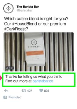 conversational ads answer